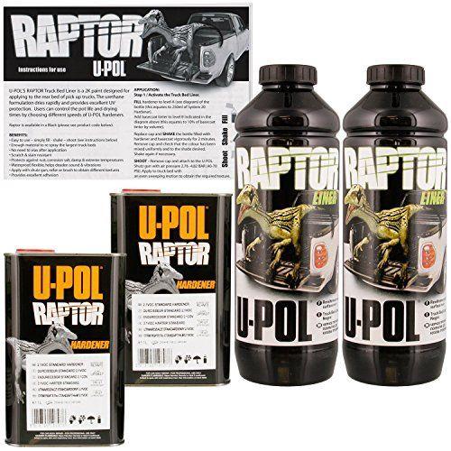 Raptor 174 Liner Roll On 2l Kit Black 2 1 Voc